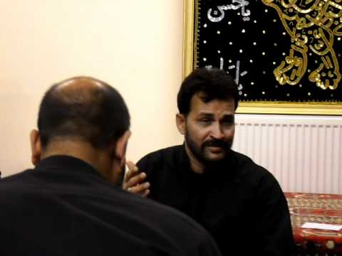Sajid Hussain Jafri in Babul Murad, Harrow, London 10 December, 2011