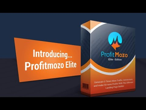 ProfitMozo Review Demo | DFY Landing Page Builder + Automatic Traffic from Facebook