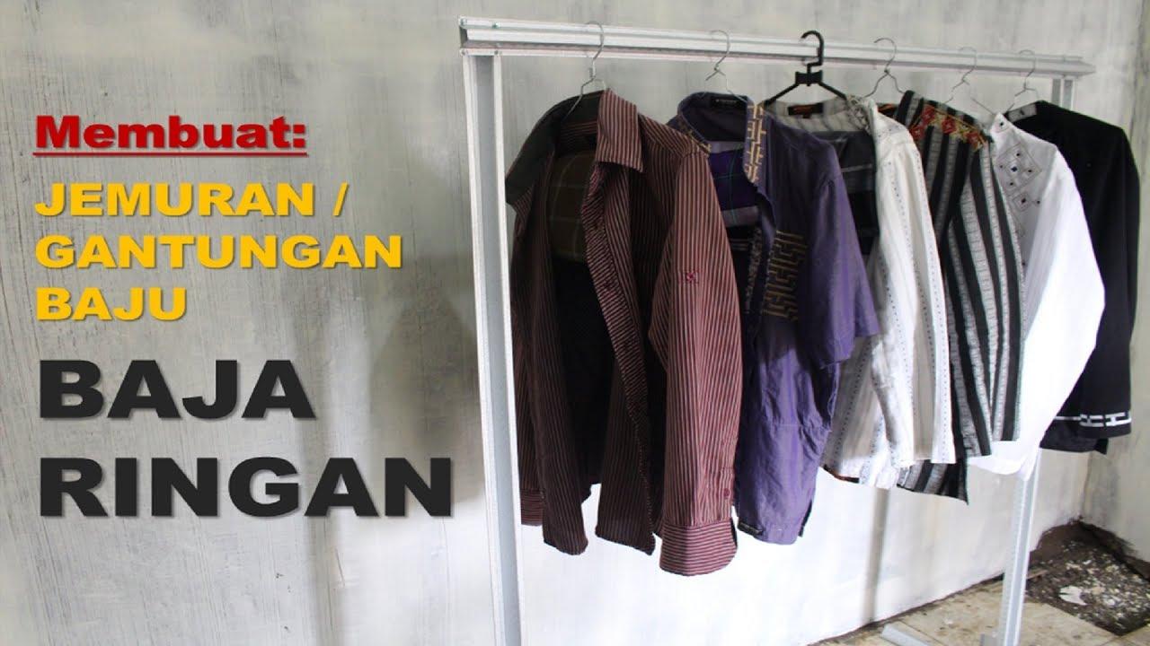 Harga Baja Ringan Bekas Membuat Gantungan Baju Dan Jemuran Dari Youtube