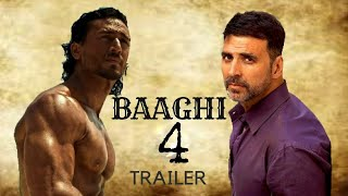 Baaghi 3 (2019) - Teaser Trailer | Tiger Shroff | Akshay Kumar | Kriti Sanon HD Movie Concept