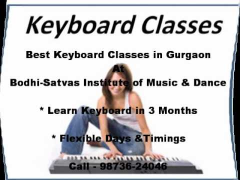 BEST KEYBOARD CLASSES IN GURGAON AT Bodhi-Satvas Institute of Music - 9873624046