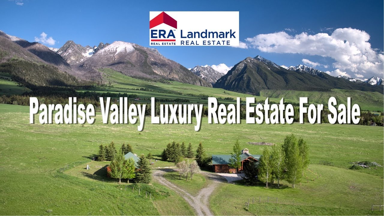 Paradise Valley Livingston Montana Luxury Real Estate for Sale Yellowstone  River