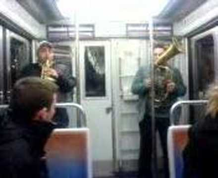 Jazz sur le Metro