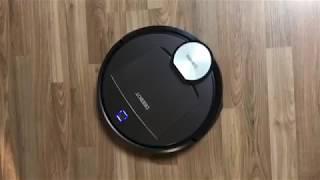 로봇청소기 작동