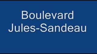 Boulevard Jules Sandeau Paris  Arrondissement  16e