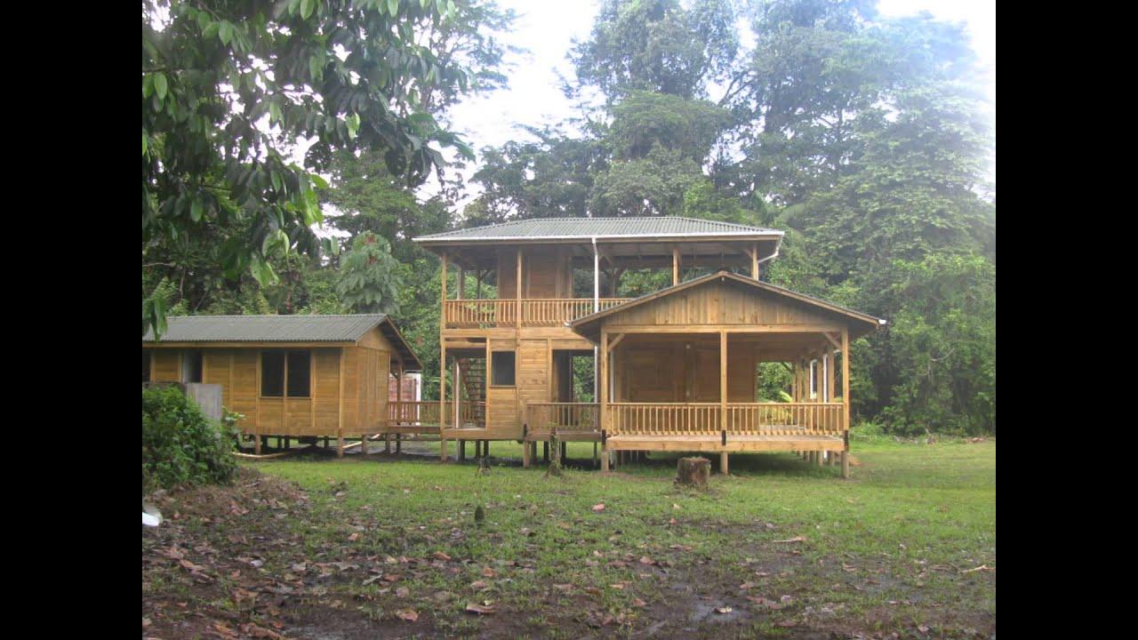 Casas en madera colombia taller de ensamble youtube - Madera para casa ...
