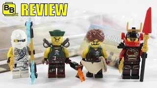 LEGO NINJAGO EXCLUSIVE ACCESSORY SET BATTLE PACK 853544 REVIEW