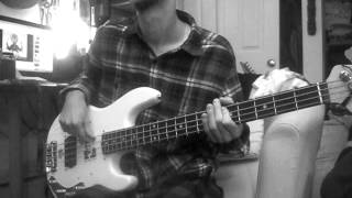 Husky - Tidal Wave [bass cover]