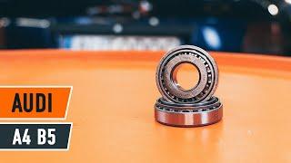 Instalar Rolamento da Roda traseira e dianteira AUDI A4 (8D2, B5): vídeo grátis