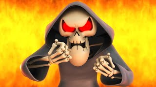 Reaper Sam is Angry | Spookiz | Funny cartoons for children