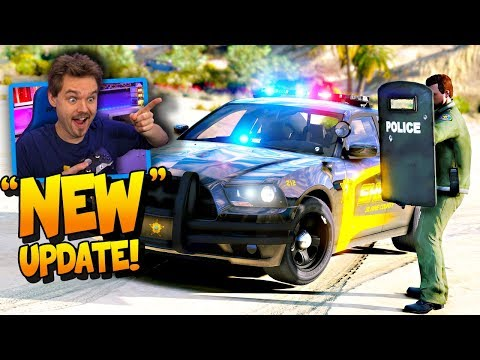 What's New? GTA 5 LSPDFR 0 4 2 UPDATE IS OUT! SHERIFF PATROL LIVE |  Realistic Police Mod Patrol