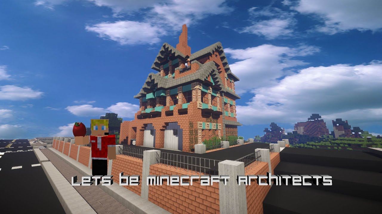 Lets Be Minecraft Architects Ep 1 Modern Victorian Style Houses