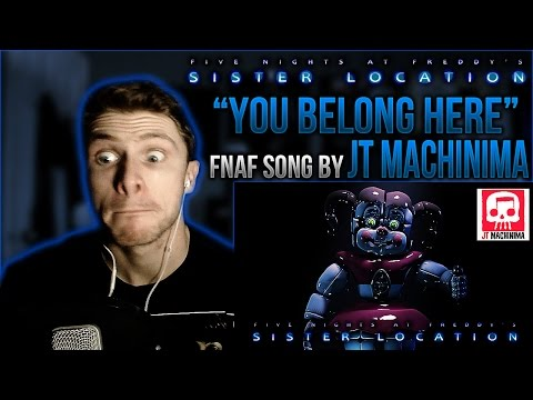 Vapor Reacts #80 | *NEW* FNAF SISTER LOCATION RAP SONG by JT Machinima