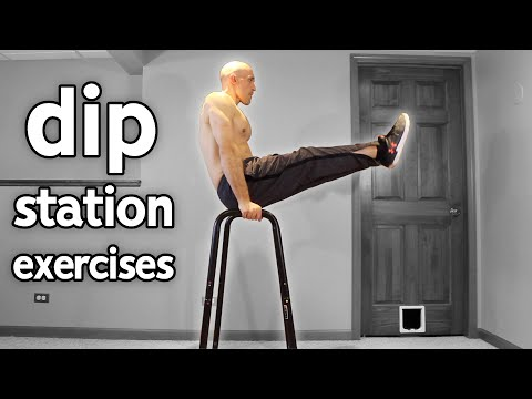15 Dip Station Exercises You Should Try