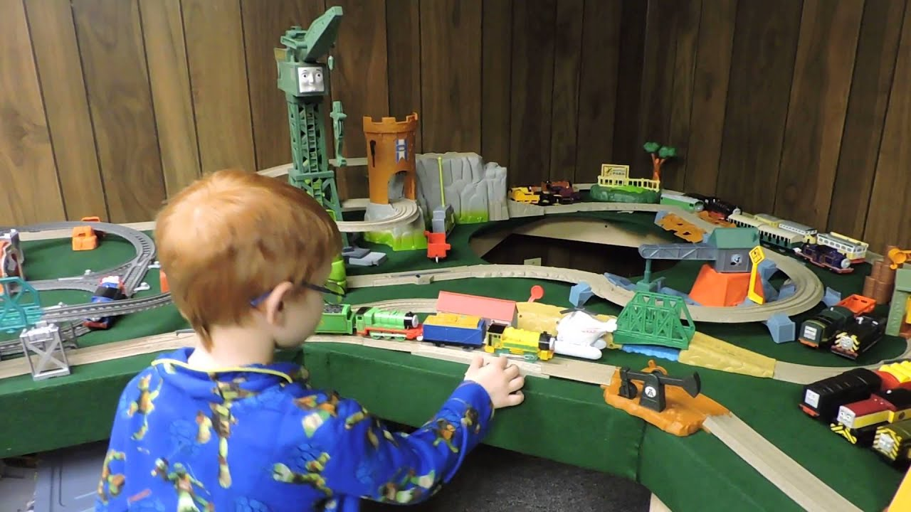 Thomas The Train Table And Chairs Oak Arrowback Dining Friends Trackmaster Adventures By Hunter 3 New