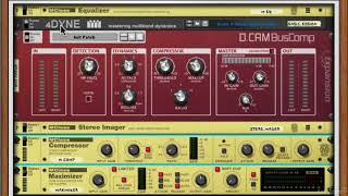 Reason Rack Extensions 103: Mixing and Mastering Rig V3 - Explored - 34. DCAM BusComp