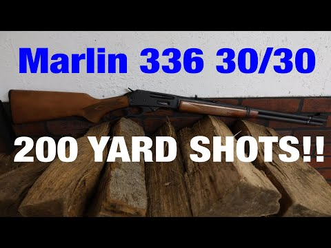 Marlin 336 30/30, can it reach out to 200 yards??