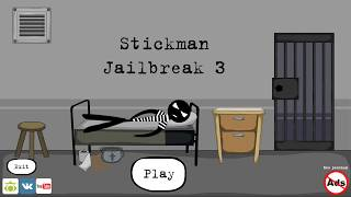 Stickman jailbreak 3 (by Starodymov games) / Android Gameplay HD