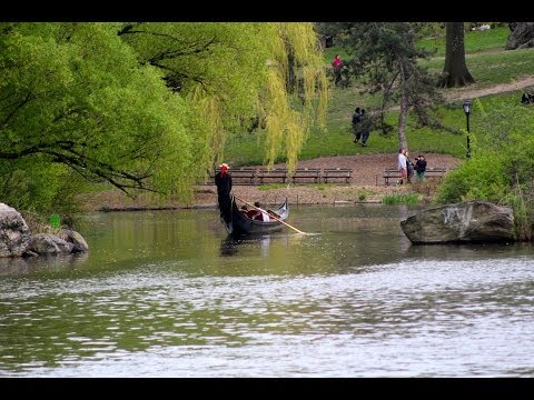 Central Park New York  / Lakes