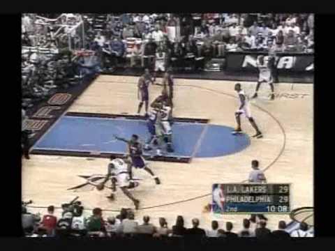 2001 NBA Finals: Lakers at Sixers, Gm 5 part 3/12