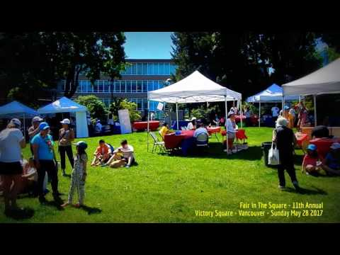 HiMY SYeD -- Fair in The Square 11th Annual, Victory Square, Vancouver BC Canada, Sunday May 28 2017
