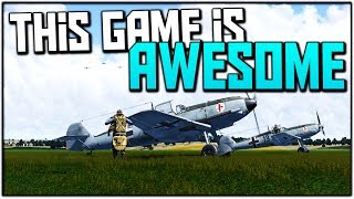 This Game is AWESOME (il-2 Cliffs of Dover Gameplay)