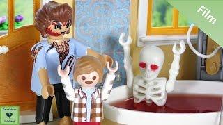 Playmobil Film Deutsch HALLOWEEN STREICH Sean will Millie erschrecken