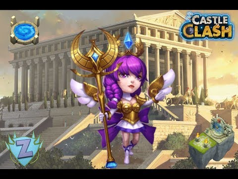 Athena - Gameplay Castle Clash FR