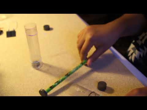Levitation experiment by science kid