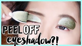 PEEL OFF EYESHADOW?! | WTF!