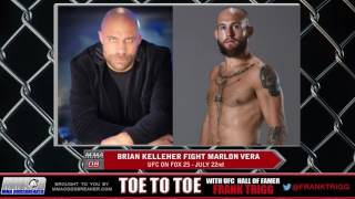 Frank Trigg pre-fight interview with UFC on FOX 25 Brian Kelleher