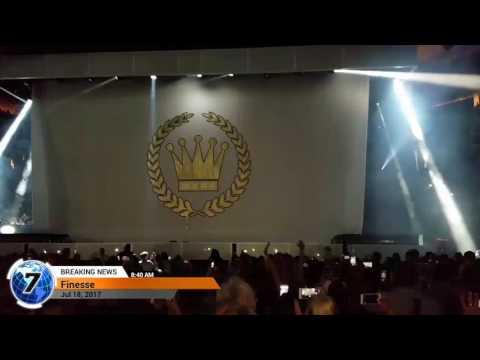 Bruno Mars - Finese Golden One Center