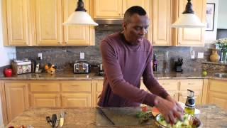 Salad With Butter Lettuce, Berries & Dill : Preparing Healthy Foods