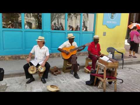 Some of the Smoothest Cuban Street Music