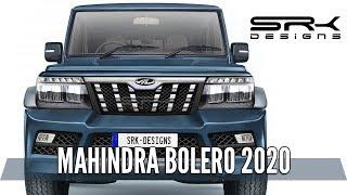 Mahindra Bolero 2020 - Rendering - Making Video | SRK Designs