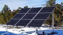 Off-Grid: ROBUST 10,000 Watt, 80 Amp Solar Power System for AZ Ranch