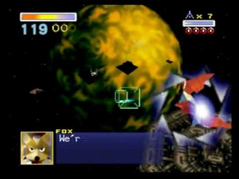 Star Fox 64 (Nintendo 64) Playthrough - Part 3