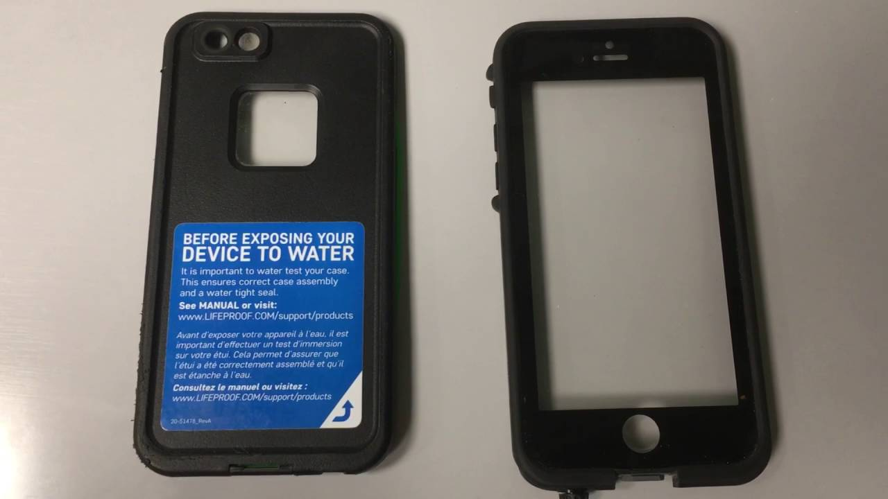 huge discount c4143 ccb9e LIFEPROOF FRE iPhone 6s PROBLEMS REVIEW-WATCH BEFORE YOU BUY!