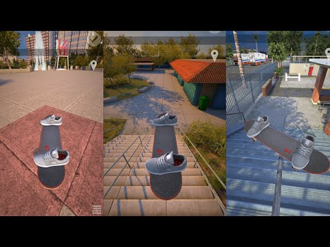 RIDICULOUS TRICK CONTEST! - Skateboarding Video Game!