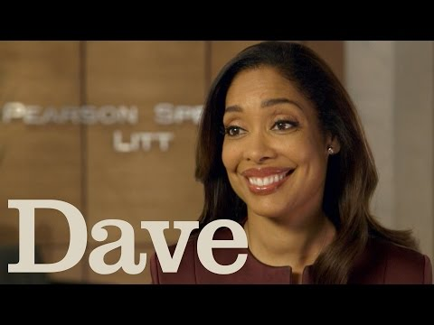 Gina Torres Rapid Fire Questions | Suits Season 5 | Dave