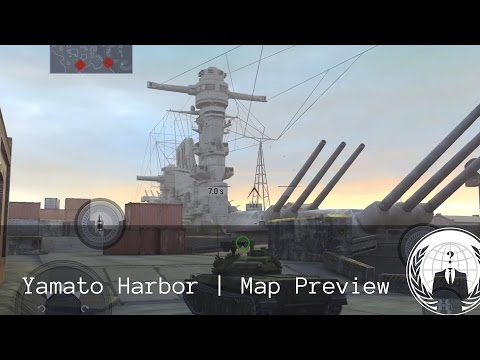 Yamato Harbor Map Preview | World of Tanks Blitz