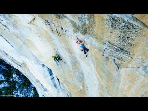 Petzl athlete Emily Harrington sends Golden Gate (5.13 VI) in El Capitan