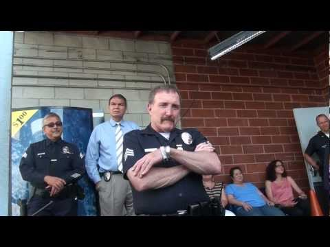 """End of Watch broadcast for LAPD Legend """"Rak"""""""