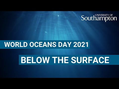 World Oceans Day 'Below the Surface' | University of Southampton
