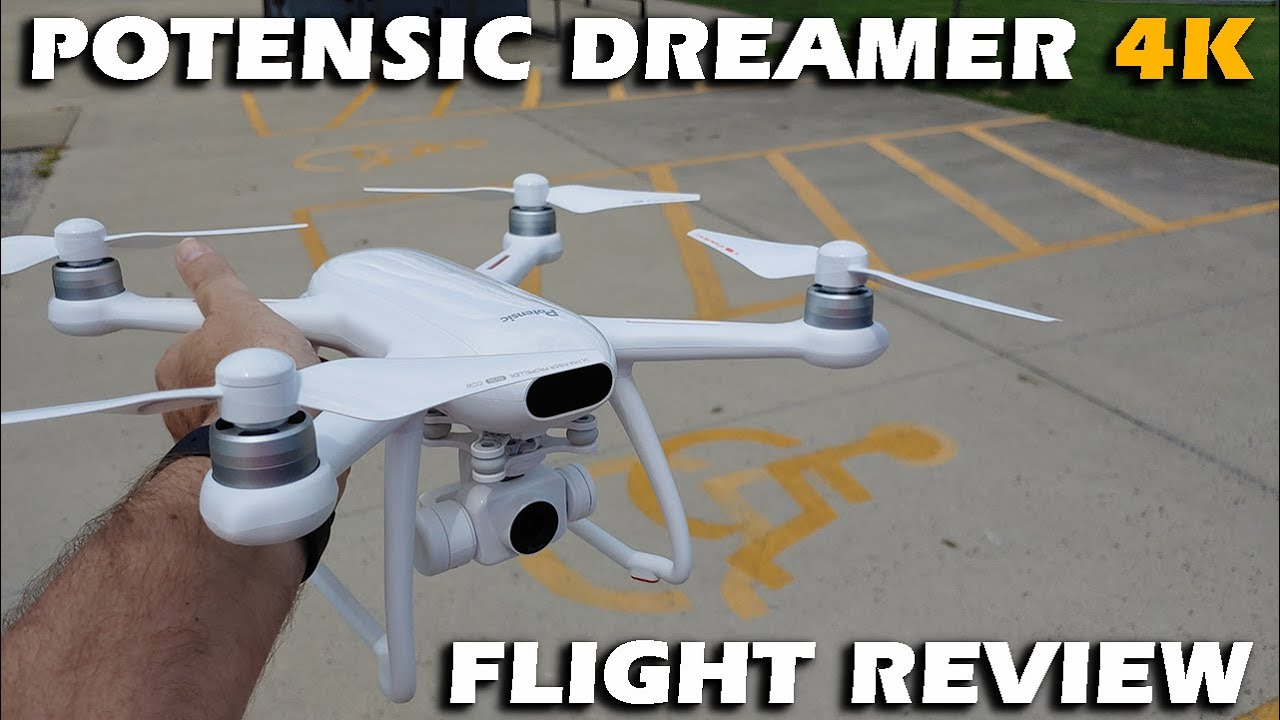 Download Potensic Dreamer 4k Brushless GPS Drone Flight Review