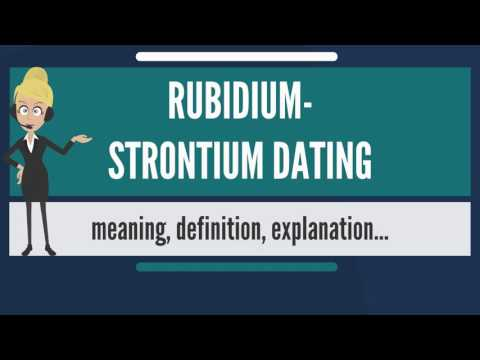 rubidium 87 dating