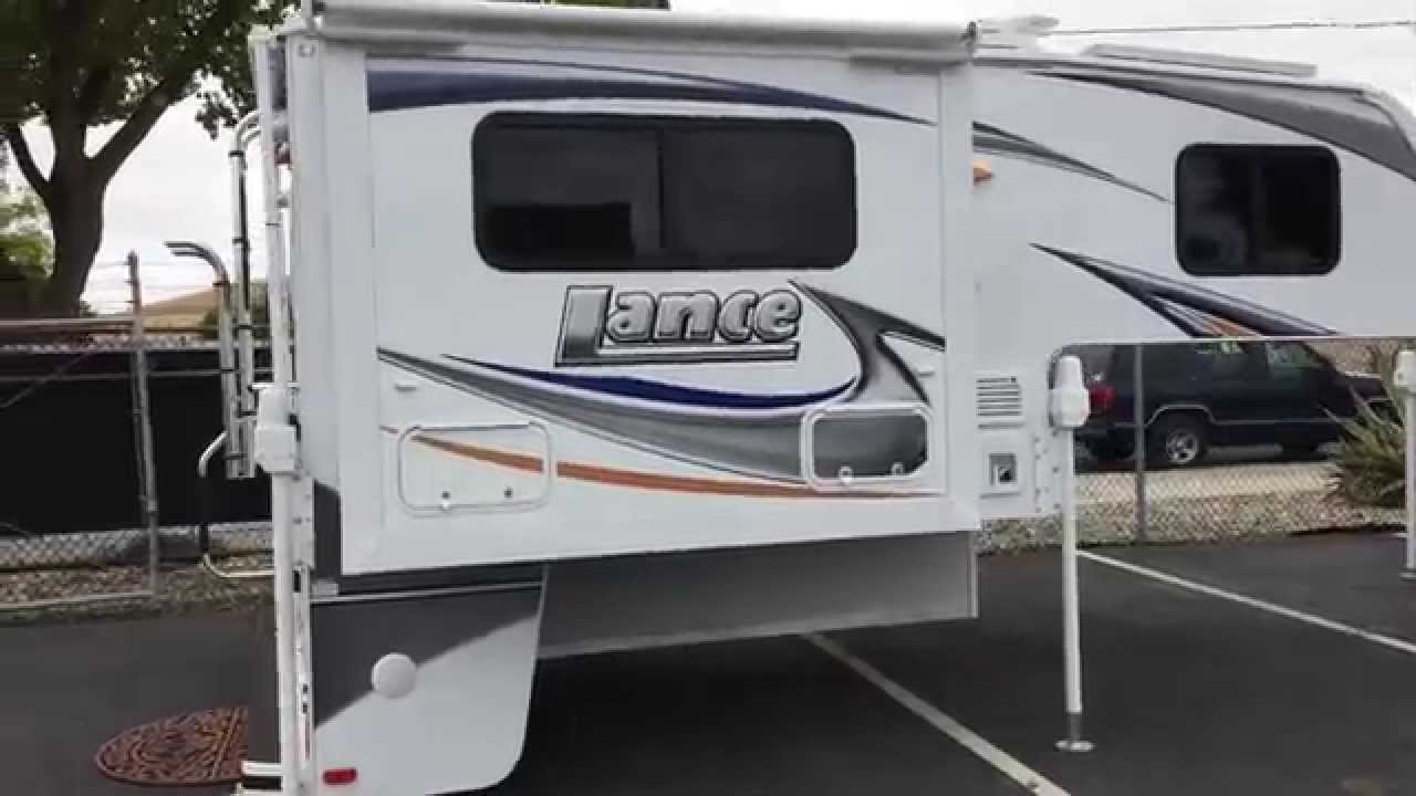 ... Lance 855s Truck Camper In Livermore Ca. Pro Trucks Plus - YouTube