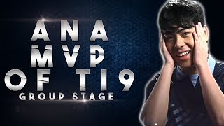 TI9 MVP of The Interational 2019 Group Stage - OG.ana