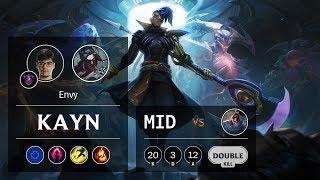 Kayn Mid vs Yasuo - EUW Master Patch 10.1