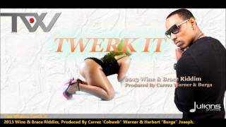 New Tian Winter | TWERK IT [2013 Antigua Soca][Produced By Carrez Warner & Burga]